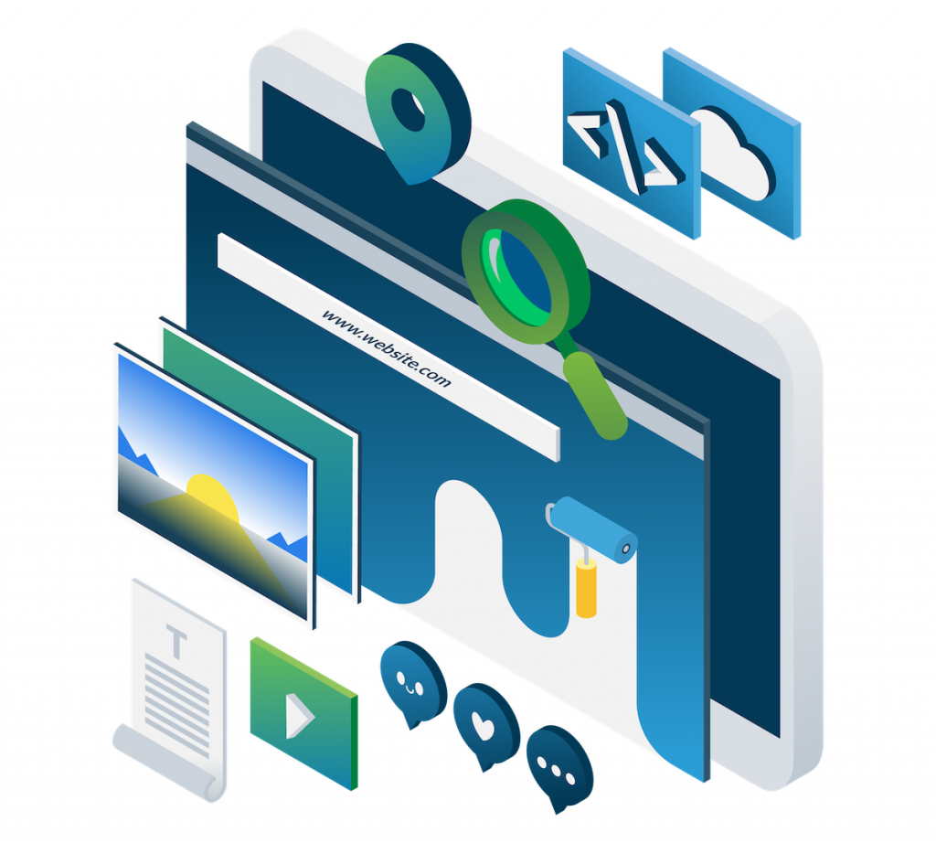 GreenStar Marketing Web Design Hero Graphic