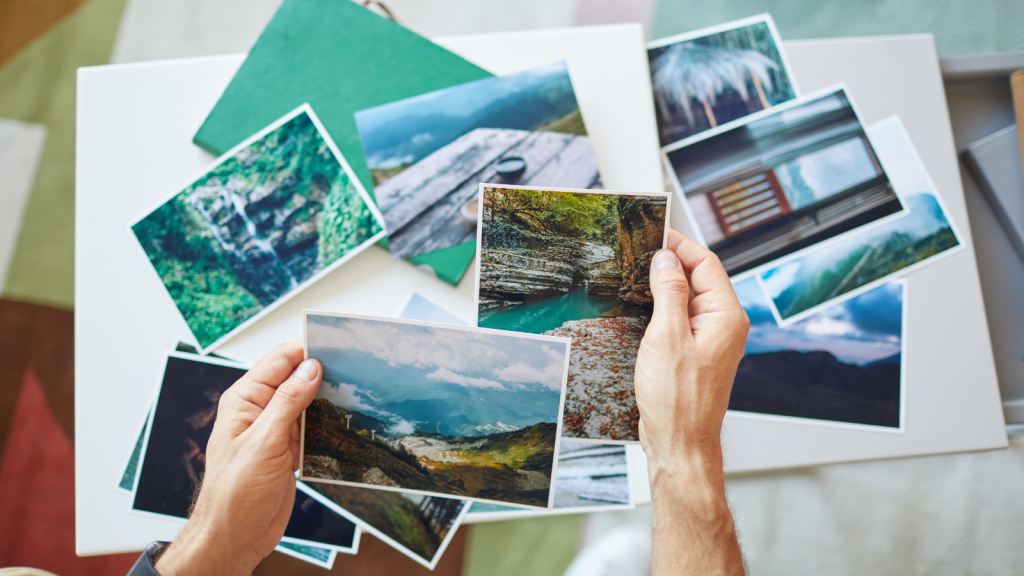 pile of photographs expressing the need for image SEO